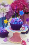 Hydrangea  Cupcakes by theresahelmer