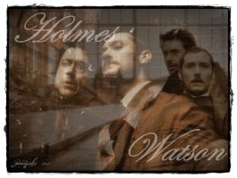 Holmes and Watson by Gatergirl79