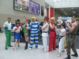 Street Fighter Meet Up (MCM Anime Expo Octover 201 by golden-psyco