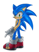 Sonic the Hedgehog -Redo- by Chibi-Nuffie