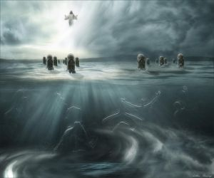 Ocean Resurrection by rsiphotography
