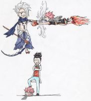 Fairy Tail: Shoo Fly Don't Bother Me: COLORED by empersian1234