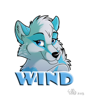 WindWolf Badge by WindWo1f