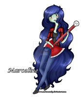 Marceline. by CartoonCoby