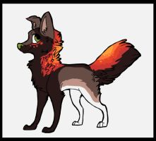 Bid Dog OVER by sugarcakes-adopts