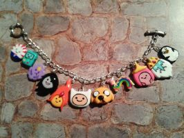 Adventure Time Bracelet by adrisundead