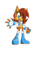Sonic Team Sally by Karlight-Kera-Gatchi