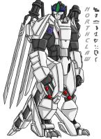 TS' Northclaw Colored by Autobot-Windracer