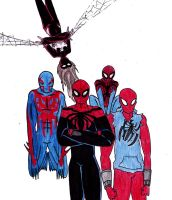 Spidey-Family by Kenmdrt