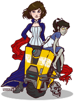 DishonorBorderBioInfinite by cheeseborger