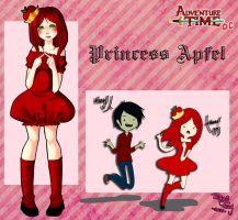 Adventure Time OC -Princess Apfel by RingoTeam