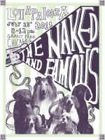 The Naked And Famous Poster by J-A-Y-E