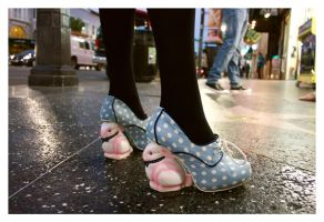 Bunny Shoes by makepictures