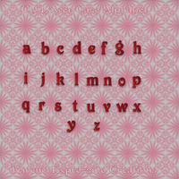 Lower Case Alphabet Preview by Sunnemo1