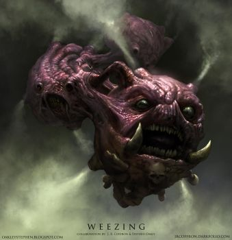 Weezing by JRCoffronIII