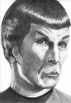 Mr. Spock by Tellaine