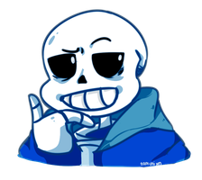 UT: Sans by tamisumimi