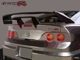 Acura RSX - Concept R by phirewerkz