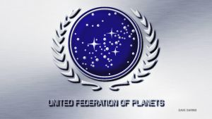 Star trek Federation Crest by Dave-Daring