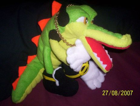 VECTOR CROCODILE  PLUSHIE by Victim-RED