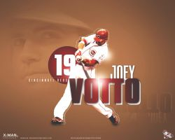 Joey Votto by xman20