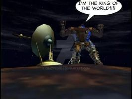 Dinobot is King by CrazyCon28
