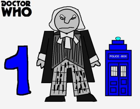 Doctor Who Minis - First Doctor by ESPIOARTWORK-102