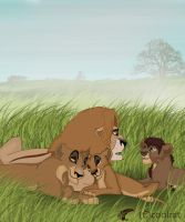 zira and family by coolrat