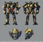 Sunstreaker: Movie Concept by TheMinttu