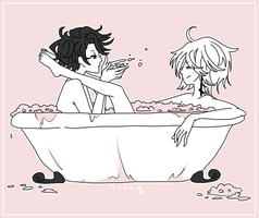 Bubble Bath by TwigPrince