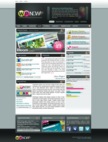 WordPress Now Homepage by STRIF3wind