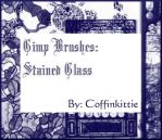Gimp Brushes: Stained Glass by coffinkittie