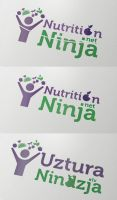 Nutrition Ninja Logo by vasiligfx