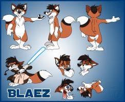 Blaez Model Sheet by nanook123