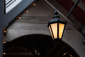 Covered Market Latern by VRoX