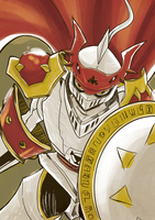 Dukemon! or Gallantmon! by Dahcoomicman