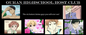 Ouran Highschool Host Club by Music0ptimi5tic
