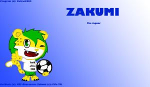Zakumi The Jaguar by HTF-Characters