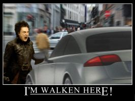 Walken Here by patcole