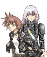Riku and Sora - alternative by Autumn-Sacura