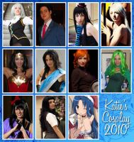 Costumes of 2010 by chibikat