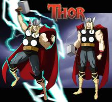 THOR ANIMATED by CHUBETO