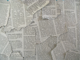 texture XII _newspaper by real-live-lover
