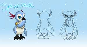 Digimon_Sphenimon by EmeraldSora
