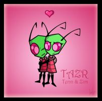 TAZR-Tenn and Zim by bluesoru