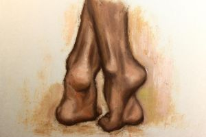 Ankles and Feet by DeLumine