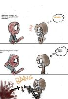 He hates spider by luiganddaisy