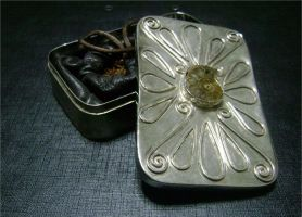 Sterling silver snuff box by Artanis71