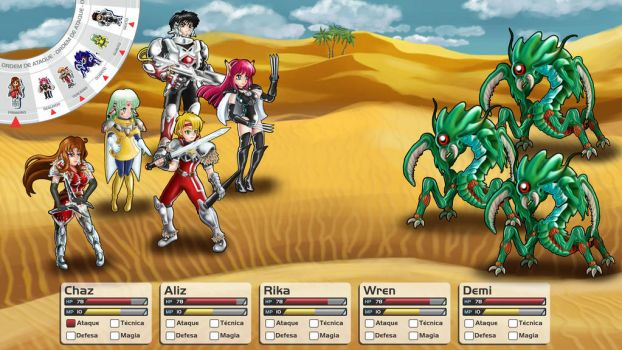 Phantasy Star 4 ultra Remak by seijiwolf