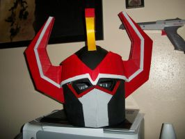 MegaZord Helm WIP 4 by ShadowMaginis